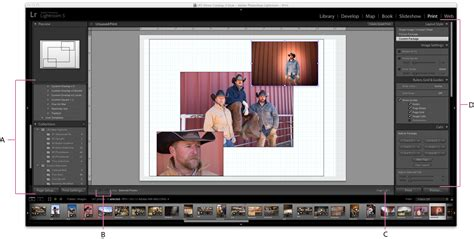 Print Module Basics For Photoshop Lightroom Classic Cc Lightroom Print Templates