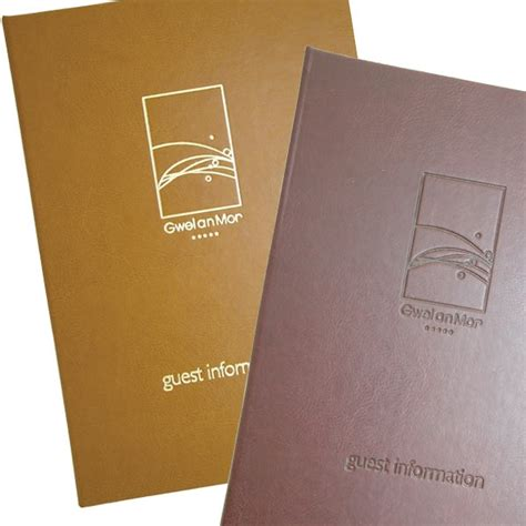 Hotel Room Information Folders by Guest Information Folders Hotel Visitor Room Folders