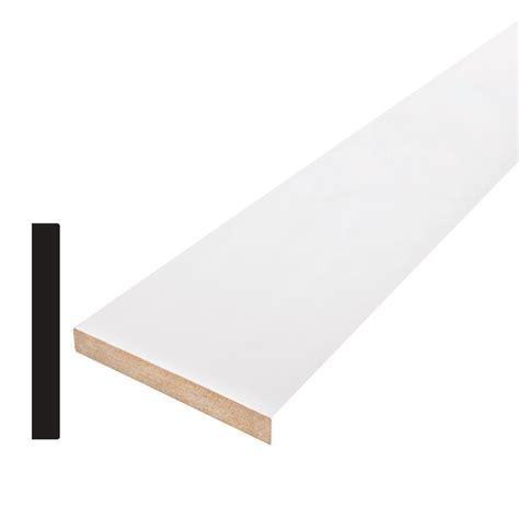 craftsman baseboard alexandria moulding craftsman 1 2 in x 5 1 2 in x 96 in primed mdf base moulding 121x6 96096c