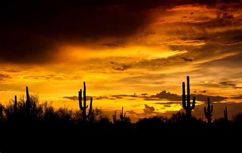 Southwestern L by A Southwestern Sunset Photograph By Saija Lehtonen