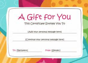 complimentary voucher template birthday gift voucher template gift templates