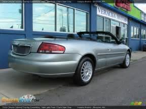 Chrysler 2004 Sebring Convertible 2004 Chrysler Sebring Touring Convertible Satin Jade Pearl