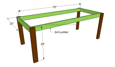 farmhouse table plans  outdoor plans diy shed