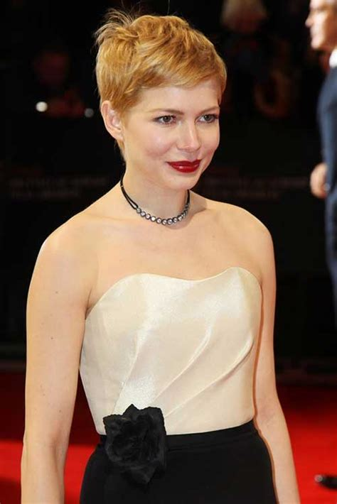 25  Michelle Williams Pixie Cuts   Pixie Cut 2015