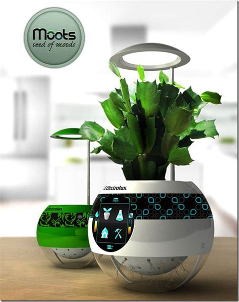 Planter Technology by 187 Concept Pot Moots Future Technology