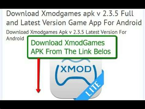 youtube apk full version download how to download xmodgames mod apk full and latest version