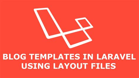 laravel 5 dynamic layout blog templates in laravel 5 4 using layout files youtube