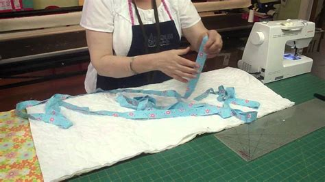 bind  quilt   sewing machine youtube