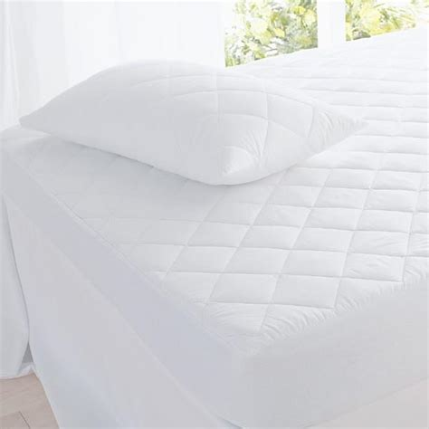actil actil quilt pillow bed topper fully fitted cotton cover quilted mattress protector