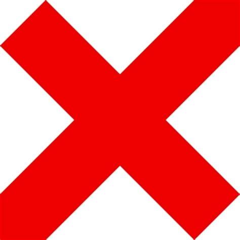 imagenes de ok no cruz roja de marca icono ok no no ok x ex im 225 genes