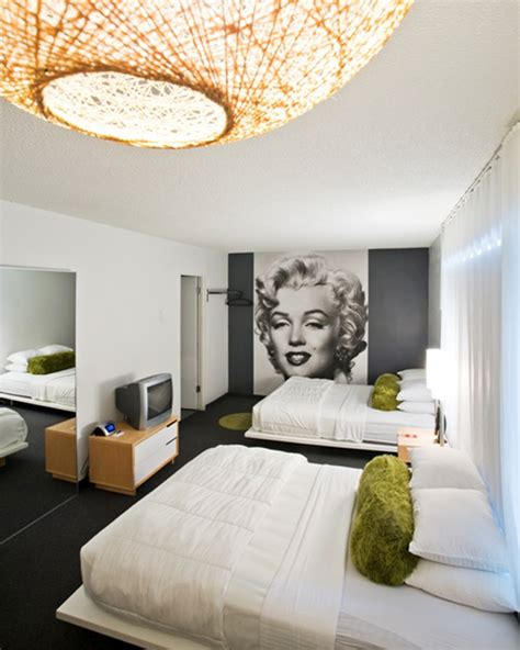 marilyn themed bedroom decorating ideas with marilyn room decorating