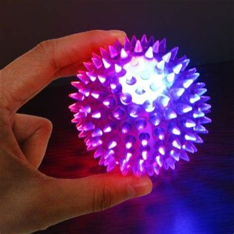 light up connecting toys spikey sensory ball spikey light up ball spikey ball