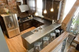 kitchen in sandusky home industrial kitchen