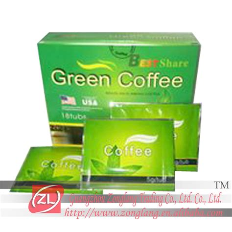 sell best green coffee slimming coffee dc002