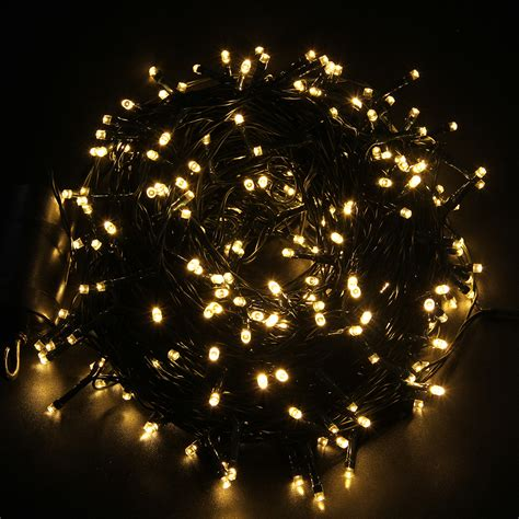 40m 300 led battery power timer christmas xmas string