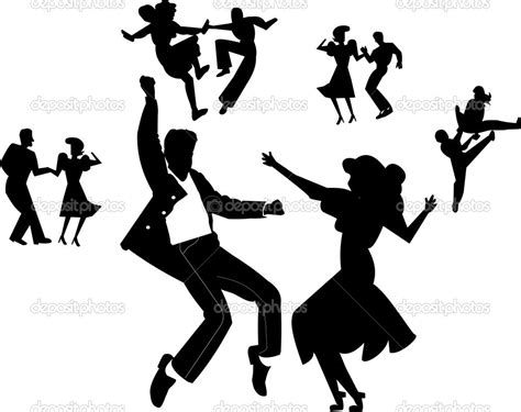 tutorial dance rock and roll rock roll design images silhouette google search retro