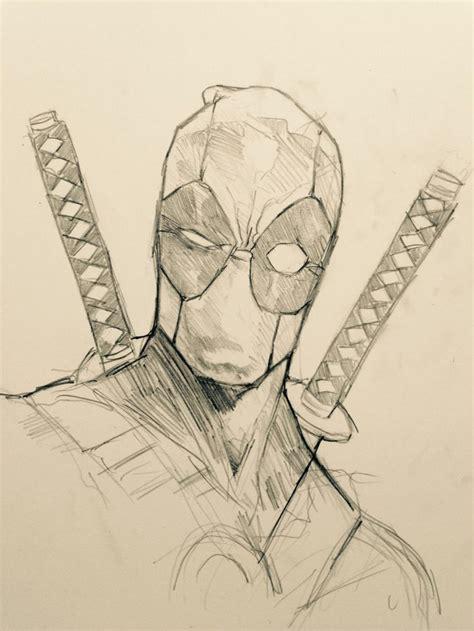 sketchbook marvel drawcrowd print deadpool marvel and comic