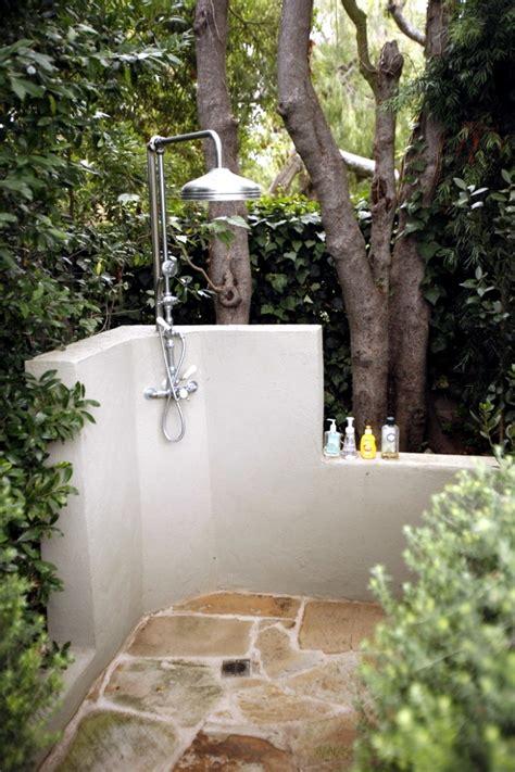 Sichtschutz Garten Ideen 3098 by 31 Ideas For Garden Shower What Material Is Best
