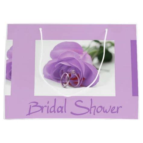 wedding shower gift bags 2 bridal shower large gift bag from zazzle all about weddings