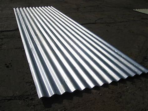 Shed Roofing Sheets by Roofing Sheets Corrugated Galvanised Steel Metal Roof