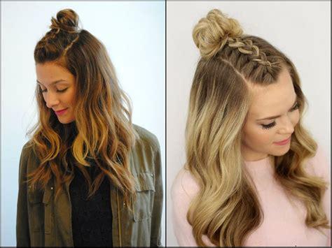 hairstyles hair down school the 25 best braided half updo ideas on pinterest