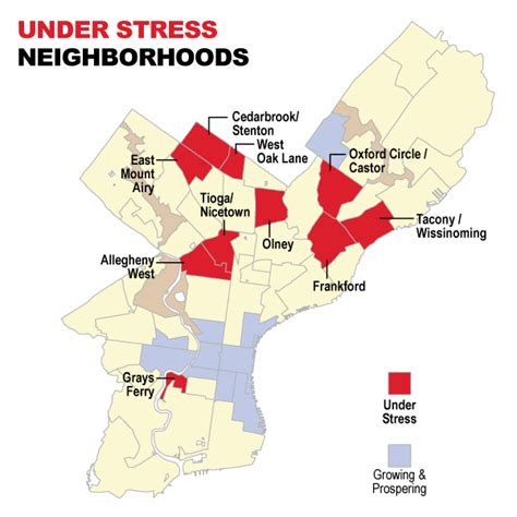 worst sections of philadelphia neighborhoods under stress metropolis