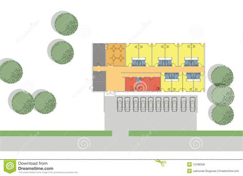 small hotel designs floor plans floor plan of the small hotel stock illustration image