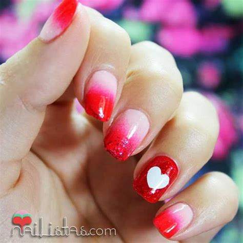 imagenes de uñas decoradas san valentin u 241 as decoradas con corazones manicura de san valent 237 n
