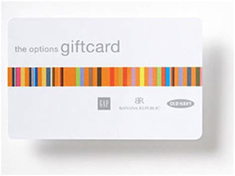 Gap Options Gift Card - last minute gifts for christmas designer mag