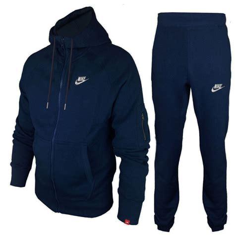 Bl Jogger Nike Navy List Navy nike mens tracksuit foundation hoodie joggers navy blue 100 genuine ebay