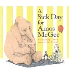 libro sick day for amos sick day for amos mcgee a by philip c stead
