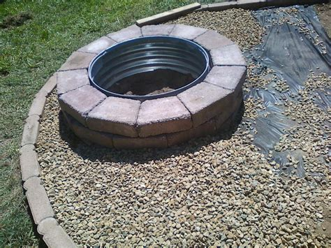 Make Your Own Firepit Step By Step Build Your Own Pit Outdoor Decorations