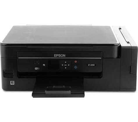 Printer Wifi Epson buy epson ecotank et 2650 all in one wireless inkjet printer free delivery currys