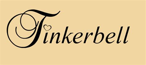 tinkerbell with heart sans swirls by xpsuedoxangelx on