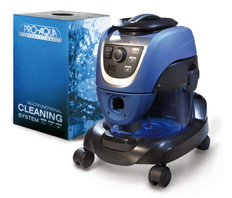 Vacuum Cleaner Delphin proaqua water based canister vacuum american vacuum company