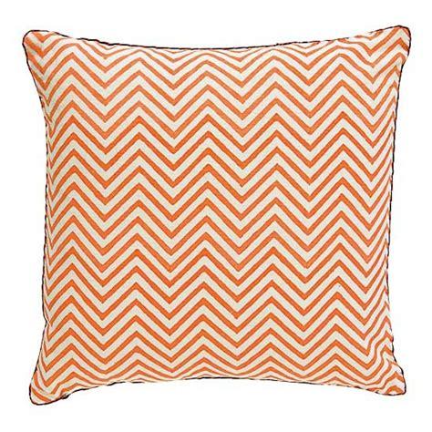 geometric pattern cushions uk orange chevron cushion geometric cushions our pick of