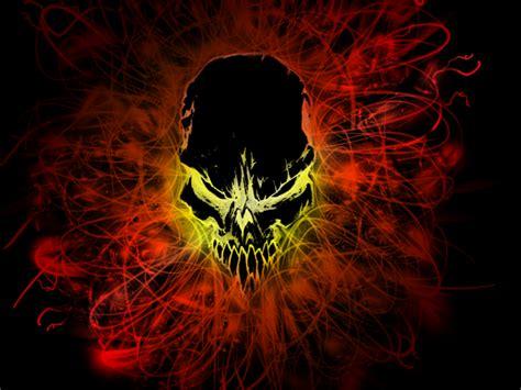 wallpaper black fire wallpaper 3 black fire skull by blacktiger5 on deviantart