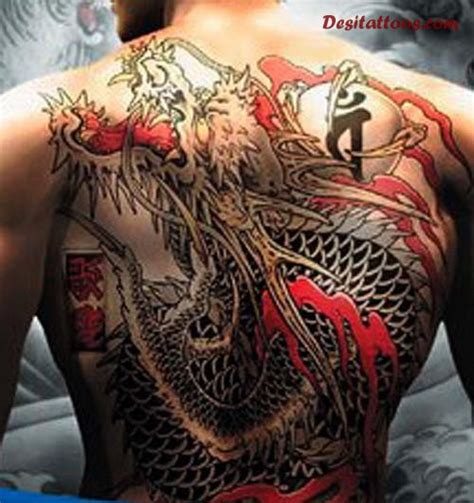 tattoo japanese dragon black 33 full back japanese tattoos