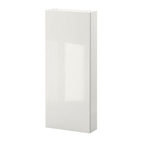 Gloss White Cabinet Doors Godmorgon Wall Cabinet With 1 Door High Gloss White Ikea