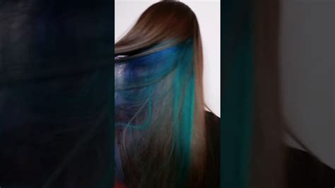 peekaboo color peek a boo hair color ideas spefashion