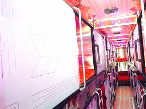 bus hire ahmedabad rent tourist luxury ac sleeper bus sahjanand tours