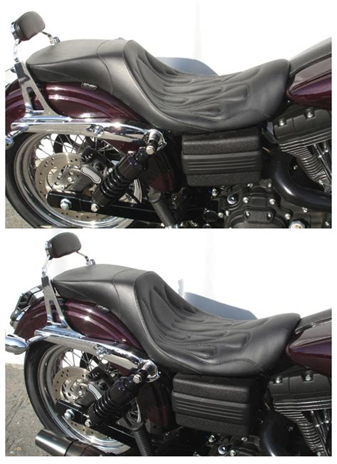 most comfortable harley seat most comfortable and best looking 2up seat for a dyna on a