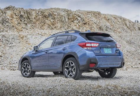 subaru crosstrek lifted blue 2018 subaru crosstrek limited test drive