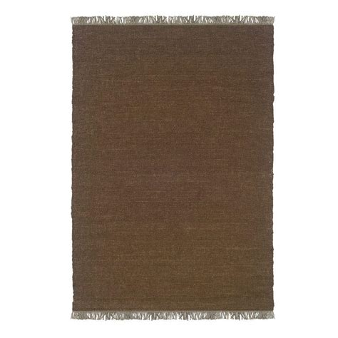 berber area rug home depot linon home decor verginia berber cocoa 5 ft 3 in x 7 ft 7 in indoor area rug rug ve50158