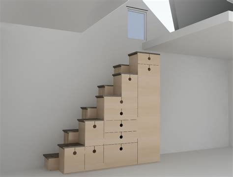 stair shelving unit stair of the week alternating tread stair design is also