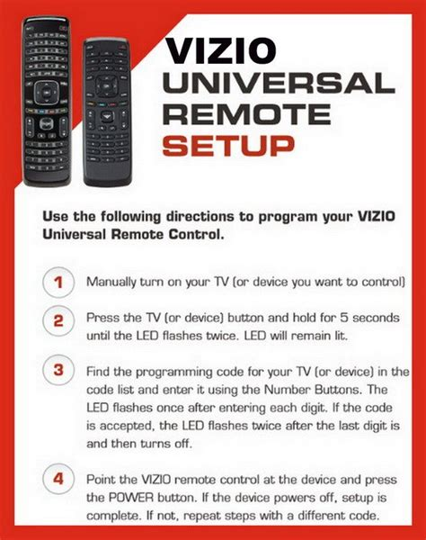 visio universal remote codes vizio tv universal remote setup with remote