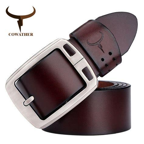 Belt Buckle Belt Cowhide Leather cowhide genuine leather belts buckle vintage lalbug