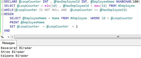 Sql Loop Through Table by How To Loop Select Query Result In Sql Sqlhints