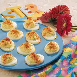taste of home christmas deviled eggs horseradish deviled eggs recipe taste of home