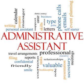 assistant dutie administrative assistant duties